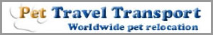 Pet Travel Transport can assist you with all services involved in safe transport of your pet