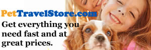 Crates, carriers, passports, microchips and more at PetTravelStore.com