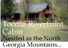Pet friendly accommodation Toccoa Riverfront Cabins