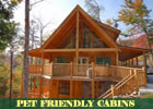 Pet friendly Great Outdoor Cabin Rentals in Pigeon Forge, Tennessee